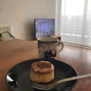 最近ハマっているバスク風チーズケーキ
