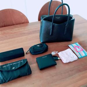 夏の鞄の中身とお財布を買いました♬