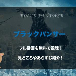 映画『ブラックパンサー』フル動画を無料視聴!あらすじや見どころは?