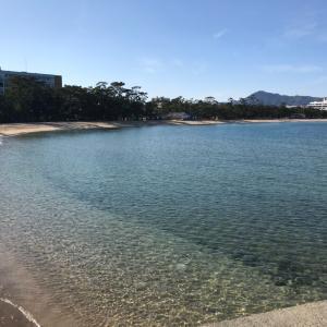 【淡路島】車中泊情報『大浜海岸公園』綺麗な砂浜の横で快適快眠