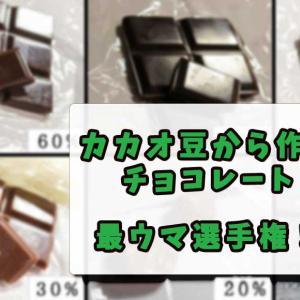 【カカオからチョコレートを作る】一番おいしいカカオ含有率を徹底比較してみた