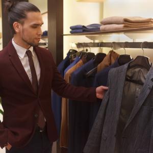 イオンにてスーツ(作業着)を2着購入
