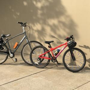 テレワーク・リモートワークで体が鈍るので、次女と一緒に自転車で小サイクリング