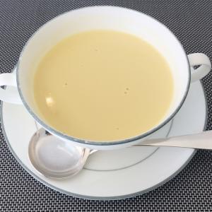 収穫したとうもろこしで美味しいコーンスープを作りました
