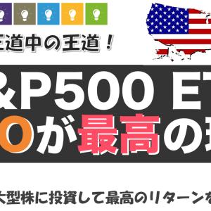 【米国株ETF】VOOのメリット•デメリットを解説!S&P500への投資が最高のパフォーマンスだった件【銘柄分析】