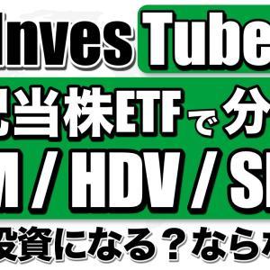 【米国株ETF】VYM/HDV/SPYDに投資すれば分散できてる?