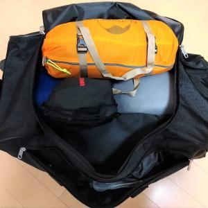 コールマンのボストンキャリーバッグはキャンプの救世主