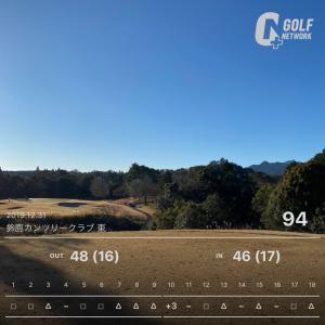 【12/31 大晦日 ゴルフ】 2019年 最終ラウンド♪