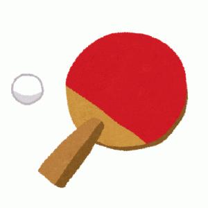 【雑学】その昔卓球には軟式卓球というものが存在した。