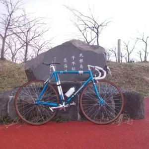 【美保神社】初詣にピストバイクで行ってきた