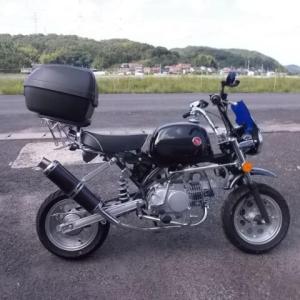 【キットバイク】中華ゴリラの予防メンテナンス テンショナーブッシュ交換