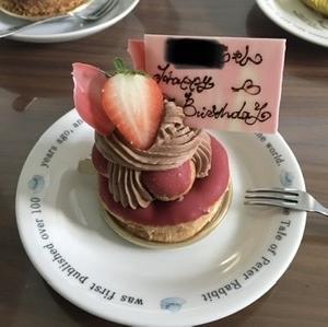 40代のバースデーケーキ