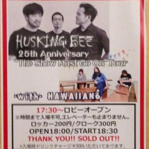 HUSKINGBEE The Show Must Go Onツアー新潟