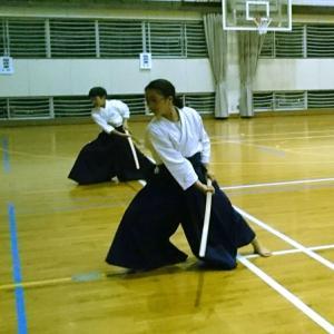 令和元年10月2日☆桜野古武道教室定期稽古会
