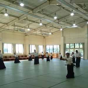 令和元年9月7,8日☆逍遙館グローバルアリーナ合同合宿稽古