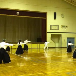 令和二年一月八日☆桜野古武術教室定期稽古会