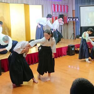 令和二年桜野芸能祭舞台演武
