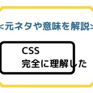 「CSS完全に理解した」元ネタや意味を解説【Tシャツ・マグカップ】