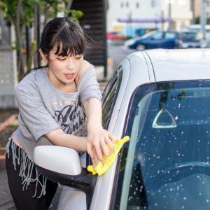 車の窓ガラスに付く汚れ、油膜を手軽で安く防止出来る方法!