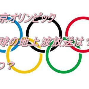 東京2020オリンピック 卓球 地上波の試合の放送局は?いつ?どの試合か
