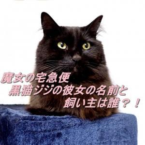 魔女の宅急便 黒猫ジジの彼女の名前は?彼女の飼い主は誰?二人のこどもについても
