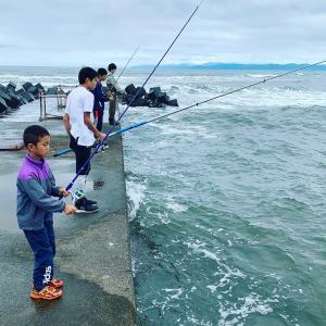 釣り、食育も一緒にできて楽しいぞ