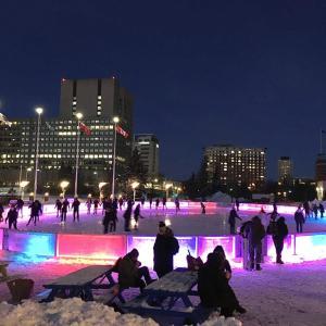 【カナダ】オタワの長い冬はスケートを楽しもう!