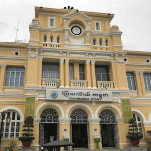 カンボジアの郵便が死んでいる…【ポストなし・紛失多発で不便すぎる】