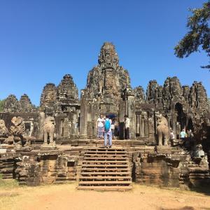 2020年1月カンボジア・シェムリアップ旅行記② アンコールワット・トムを観光編。