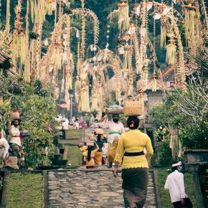 バリ島ガルンガン2020年版|パンリプラン村が入場禁止になっていた!