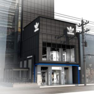 【新宿に世界初】最新コンセプト「アディダス オリジナルス フラッグシップ ストア 新宿」が7月31日グランドオープン