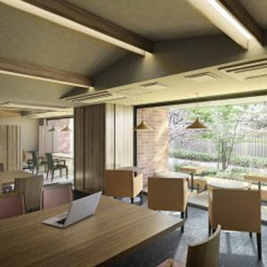 地域開放型コワーキングスペースが設置された分譲マンション「Brillia City西早稲田」モデルルームが7月25日グランドオープン