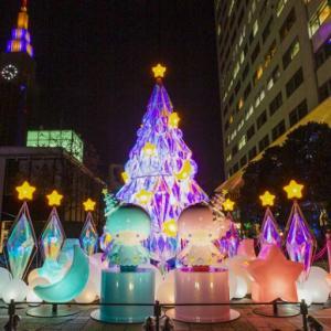 【新宿サザンテラス】リトルツインスターズ(キキ&ララ)×新宿サザンテラス『TWINKLE COLOR CHRISTMAS』が開催中