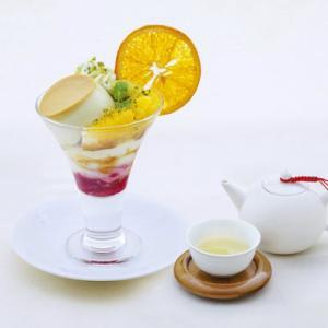 【新宿高島屋】6階のカフェ「茶語 TEA SALON新宿高島屋店」にて『ピスタチオプリンアラモード』が新登場!