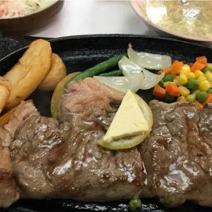 いちぎん食堂「ステーキ」那覇市
