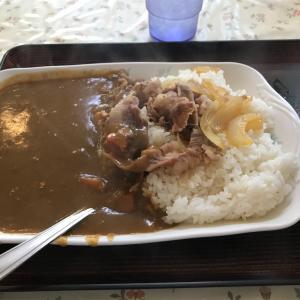 どん亭「牛カレー」沖大前店