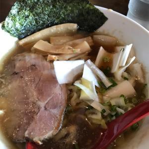 ゆいまーる人「煮干しらぁ麺」沖縄市
