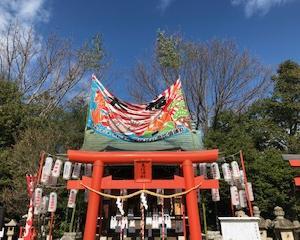 宝塚神社十日えびすとタカホ