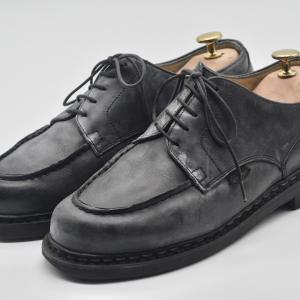 【革靴】中古で購入したパラブーツのシャンボード。状態チェックとメンテナンスをしよう。