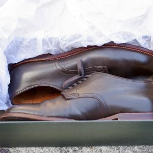 【革靴紹介】中古のオールデンを購入。開封の儀を行います。