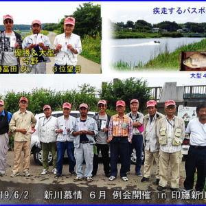 新川慕情6月例会開催 in 印旛新川