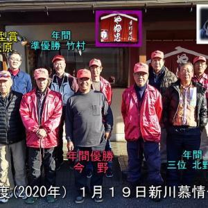 新川慕情2019年度年間成績発表&一月初例会開催
