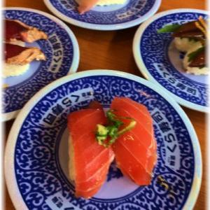 *娘とくら寿司で爆笑~♪*