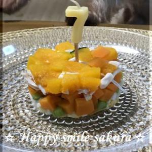 Happy birthday CoCo(7歳)