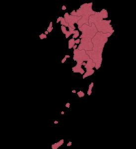 中学地理:九州地方の地図(しっかり)