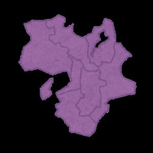 中学地理:近畿地方の地図(しっかり)
