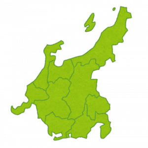 中学地理:中部地方の各県の特徴(しっかり)