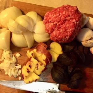 ボルシチを家庭からカズシェフのレシピ
