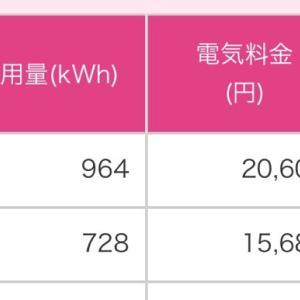 【1月分】オール電化住宅の電気代