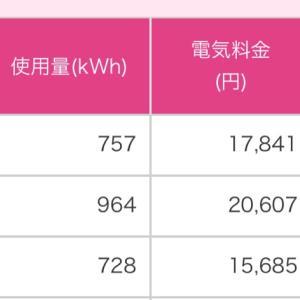 【2月分】安くなった電気代